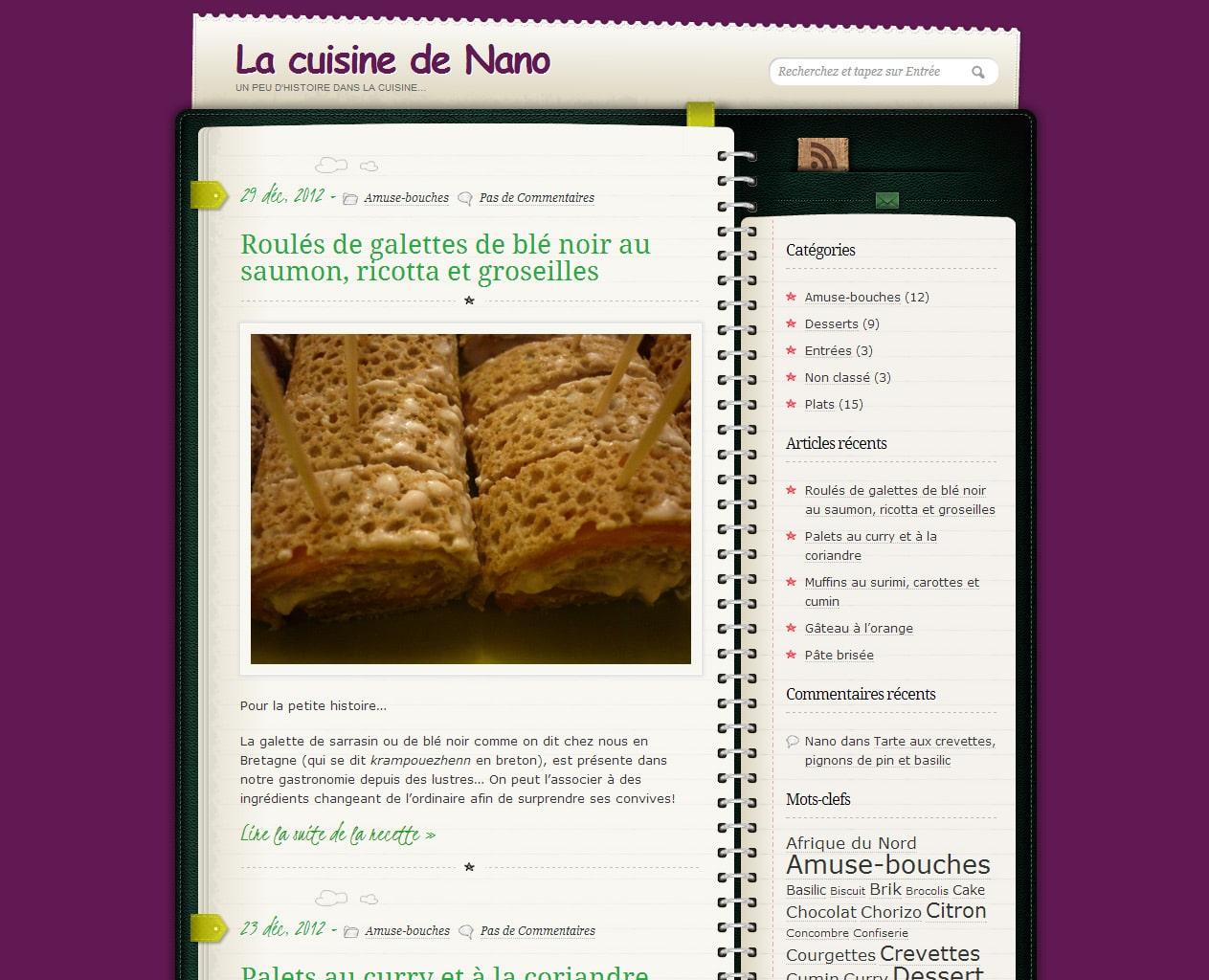 La cuisine de Nano