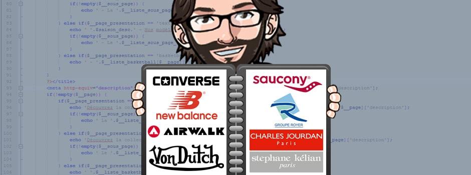 Portfolio de mes différents projets web (SEO, Community Management, Web Design...)