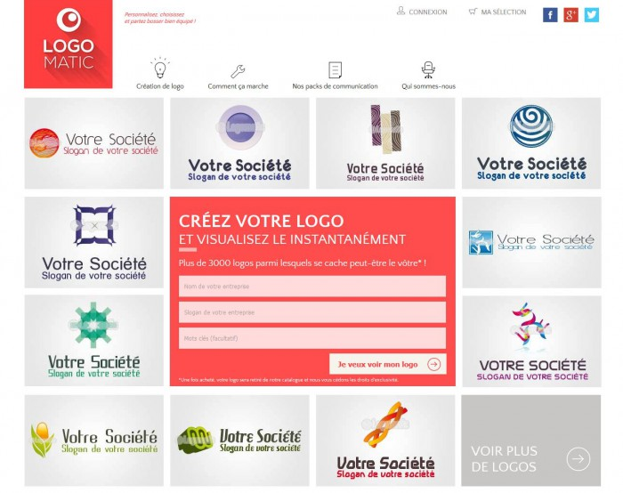 creation logo design en ligne