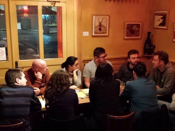Echanges lors du BarCamp SEO Rennes