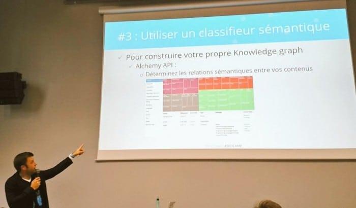 Oubliez les mots clés, pensez Knowledge Graph par François Goube au SEO Campus de Nantes 2016