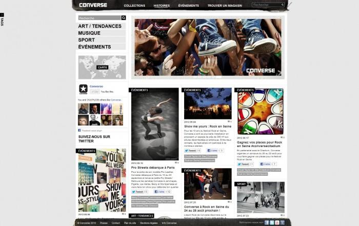 Le blog de Converse France