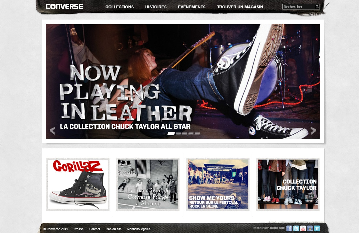 converse france contact