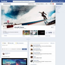 Page Facebook d'Airwalk France