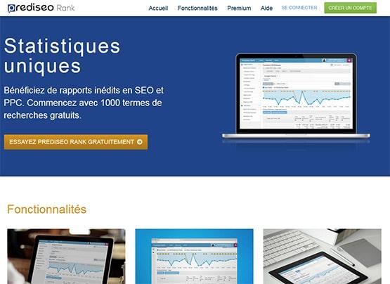 Prediseo Rank, logiciel referencement de positionnement Google